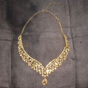 Gold on gold on gold necklace!